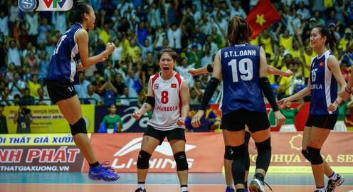 ẢNH: Ngược dòng ngoạn mục trước CHDCND Triều Tiên, ĐT Việt Nam tiến vào chung kết VTV Cup 2019