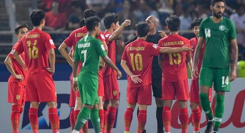 Sau khi bị loại, U23 Thái Lan đòi kiện trọng tài AFC