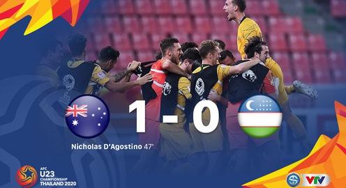 VIDEO Highlights: U23 Australia 1-0 U23 Uzbekistan (Tranh hạng 3 U23 châu Á 2020)