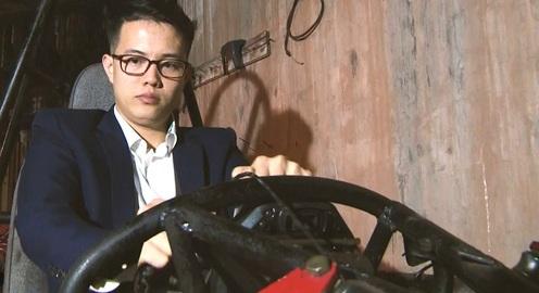 """""""Chiếc xe F1"""" do sinh viên Việt Nam chế tạo"""