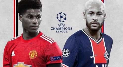 Lịch thi đấu UEFA Champions League đêm nay: Tâm điểm Man Utd - PSG
