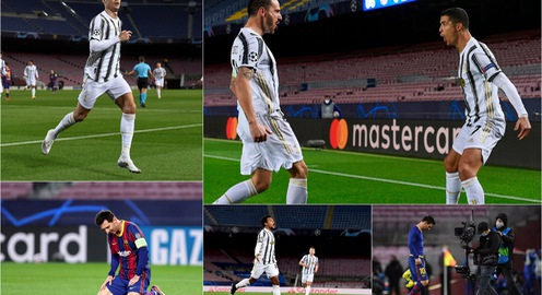 Barcelona 0-3 Juventus: Ronaldo lập cú đúp che mờ Messi ngay tại Nou Camp