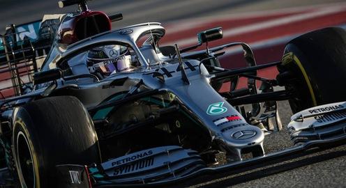 Đua xe F1: Mercedes dẫn đầu đợt thử xe đầu tiên trước thềm mùa giải 2020