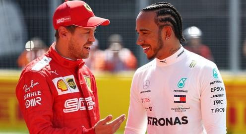 F1: Lewis Hamilton và Sebastian Vettel đồng ý giảm lương