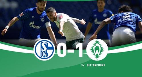 Schalke 04 0-1 Werder Bremen: Trận thua bất ngờ