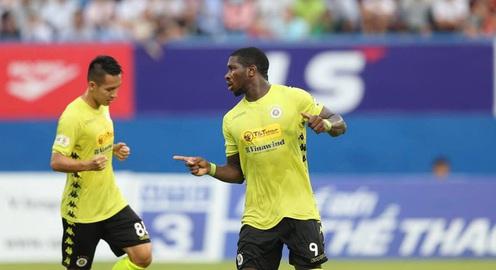 ẢNH: CLB Hà Nội tìm lại niềm vui chiến thắng ngay trên sân của B.Bình Dương (Vòng 6 V.League 2020)