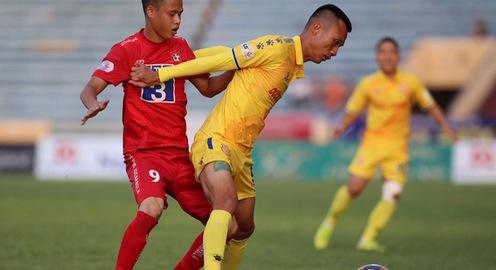 Chùm ảnh: DNH Nam Định thất bại trước CLB Hải Phòng tại Thiên Trường (Vòng 6 V.League 2020)