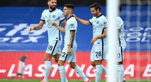 CẬP NHẬT Kết quả, bảng xếp hạng Ngoại hạng Anh sáng 8/7: Arsenal 1-1 Leicester, Crystal Palace 2-3 Chelsea