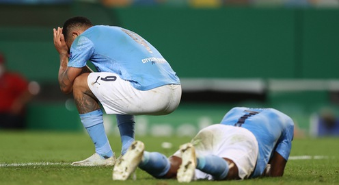 Man City gục ngã trước Lyon tại tứ kết Champions League