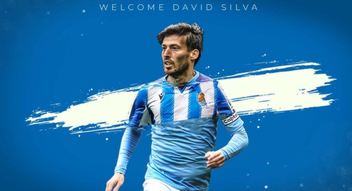 NÓNG: Huyền thoại Man City David Silva trở lại La Liga trong màu áo Sociedad