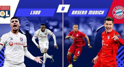 """Lyon vs Bayern Munich: Thách thức """"Hùm xám"""" (Bán kết Champions League, 2h00 ngày 20/8)"""
