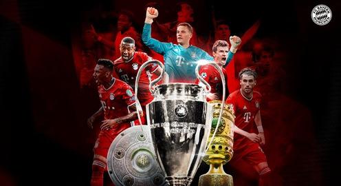 Bayern Munich giành cú ăn 3: Thành công trong mùa giải nhiều biến động!