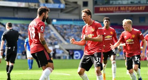 Kết quả Brighton 2-3 Man Utd: Vận may ngoảnh mặt, chiến thắng không tưởng!