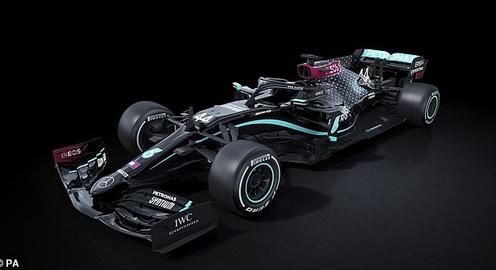 Mercedes công bố 1 phần thiết kế xe của mùa giải 2021