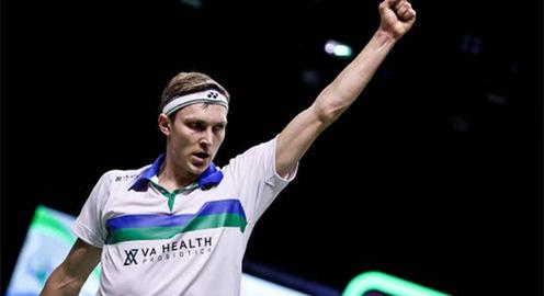 Viktor Axelsen vô địch giải cầu lông Thái Lan mở rộng