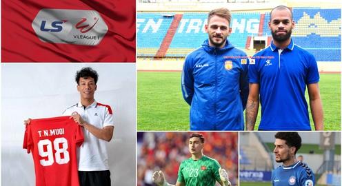 Chuyển nhượng V.League 2021 ngày 9/1: DNH Nam Định thử việc 2 ngoại binh, CLB Bình Định đăng ký tiền đạo từng khoác áo U16 Barcelona