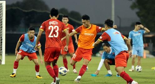 ĐT U23 Việt Nam dốc sức tập luyện tại UAE, hướng tới Vòng loại U23 châu Á 2022