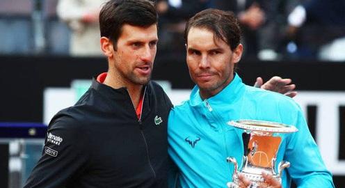 Nadal tiến gần tới thành tích danh hiệu lớn của Djokovic