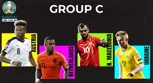 Lượt trận thứ 2 bảng C EURO 2020   Tâm điểm Hà Lan vs Áo, Ukraina vs Bắc Macedonia