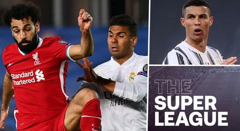 UEFA xem xét trừng phạt các đội bóng vẫn còn ở dự án Super League