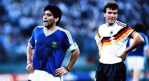 """3 phút cùng Sao: Gặp gỡ đối thủ lớn nhất của Diego Maradona - """"Tiểu hoàng đế"""" Lothar Matthaus"""