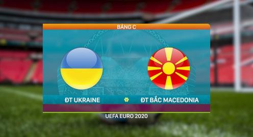 VIDEO Highlights ĐT Ukraine 2-1 ĐT Bắc Macedonia   Bảng C UEFA EURO 2020