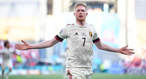 De Bruyne tỏa sáng đẳng cấp ngay trận đầu tiên ra sân tại EURO 2020