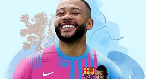 Barcelona chiêu mộ thành công Memphis Depay