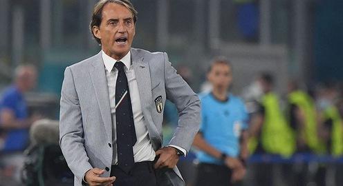Mancini nói gì khi cùng ĐT Italia toàn thắng tại vòng bảng?