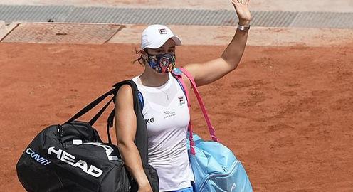 Ashleigh Barty rút lui khỏi Pháp mở rộng