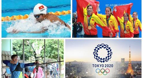 Lịch thi đấu Olympic Tokyo 2020 của đoàn Thể thao Việt Nam: Chờ đợi Ánh Viên, Phi Vũ