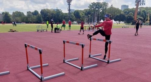 Quách Thị Lan miệt mài tập luyện trước lượt chạy bán kết tại Olympic Tokyo 2020