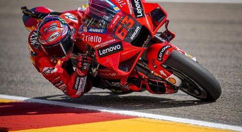 Francesco Bagnaia giành pole tại GP San Marino