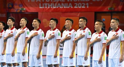 ĐT CH Séc - ĐT Futsal Việt Nam: Quyết tâm giành điểm để có vé vào vòng 1/8 | 20h00 hôm nay, 19/9 trực tiếp trên VTV6, VTV9 và VTVGo