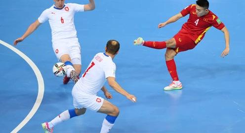 VIDEO Highlights | ĐT CH Séc 1-1 ĐT Việt Nam | Bảng D FIFA Futsal World Cup Lithuania 2021™