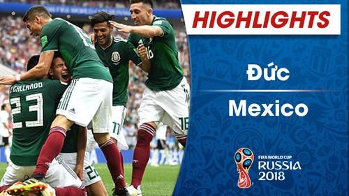 HIGHLIGHTS: ĐT Đức 0-1 ĐT Mexico (FIFA World Cup™ 2018)
