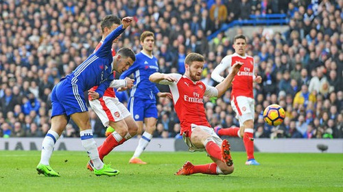 Lịch trực tiếp bóng đá Ngoại hạng Anh vòng 23: Arsenal đại chiến Chelsea và cơ hội của Man Utd
