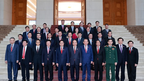 Chân dung 28 thành viên Chính phủ Việt Nam đương nhiệm