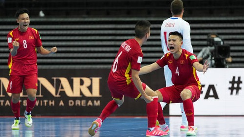 HIGHLIGHTS   ĐT CH Séc 1-1 ĐT Việt Nam   Bảng D FIFA Futsal World Cup Lithuania 2021™