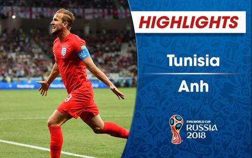HIGHLIGHTS: ĐT Tunisia 1-2 ĐT Anh (Bảng G FIFA World Cup™ 2018)