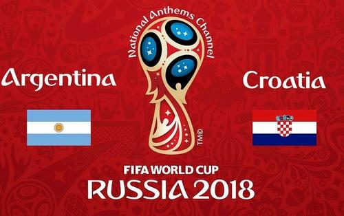 TRỰC TIẾP FIFA World Cup™ 2018, ĐT Argentina 0-0 ĐT Croatia: Đôi công hấp dẫn (H1)