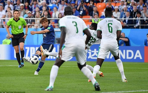 TRỰC TIẾP FIFA World Cup™ 2018, Nhật Bản 1-1 Senegal: Inui sửa lòng đẹp mắt