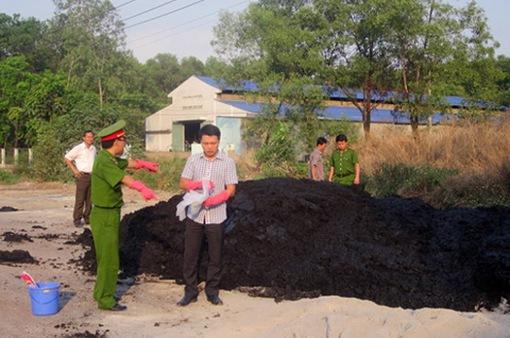 Vedan phủ nhận hoàn toàn việc đổ chất thải rắn ra môi trường