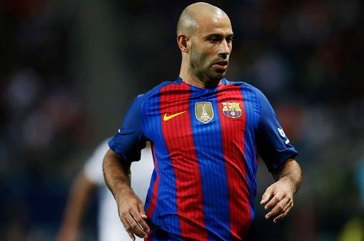 Barca định ngày chia tay Mascherano