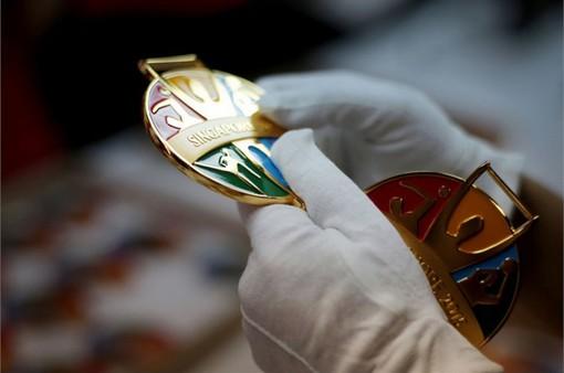 Độc đáo những tấm huy chương tại SEA Games 28