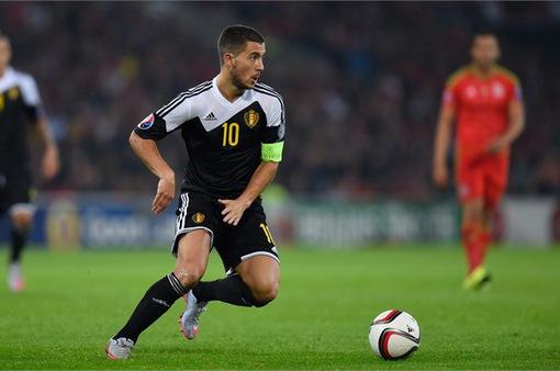 ĐT Bỉ công bố danh sách tham dự EURO 2016: Hazard đóng vai trò thủ lĩnh