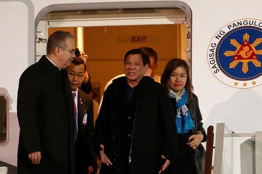Tổng thống Philippines tới Moscow thăm chính thức Nga