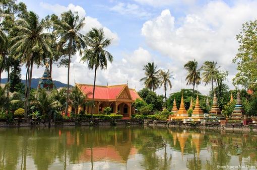 Chùa Xvayton ở An Giang: Đền Bayon tại Việt Nam