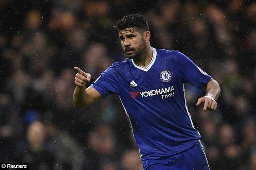 Diego Costa phủ nhận tới Trung Quốc, chỉ về CLB duy nhất nếu chia tay Chelsea