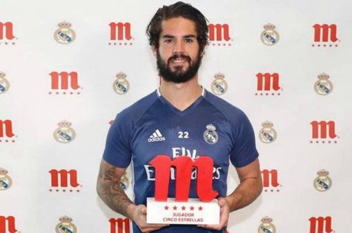 Không phải C.Ronaldo, đây mới là cầu thủ xuất sắc nhất Real mùa giải 2016/17